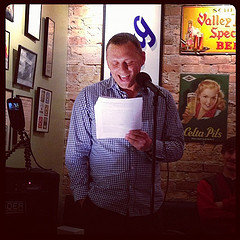 Vojislav Pejović reads at Tuesday Funk #63
