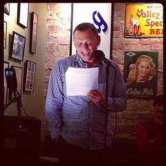 Vojislav Pejović reads at Tuesday Funk #63