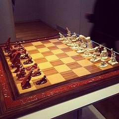 German army chess set, 1940