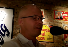 Aleksandar Hemon reads from his work-in-progress at Tuesday Funk #61