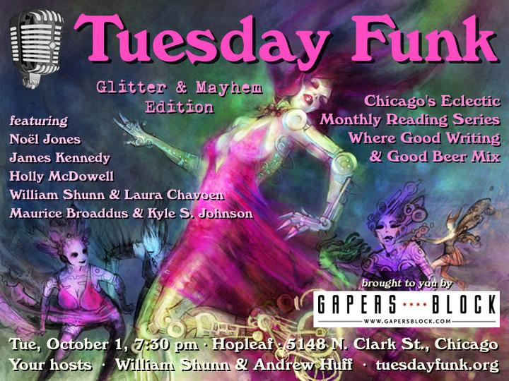 Tuesday Funk #62: Glitter & Mayhem Edition