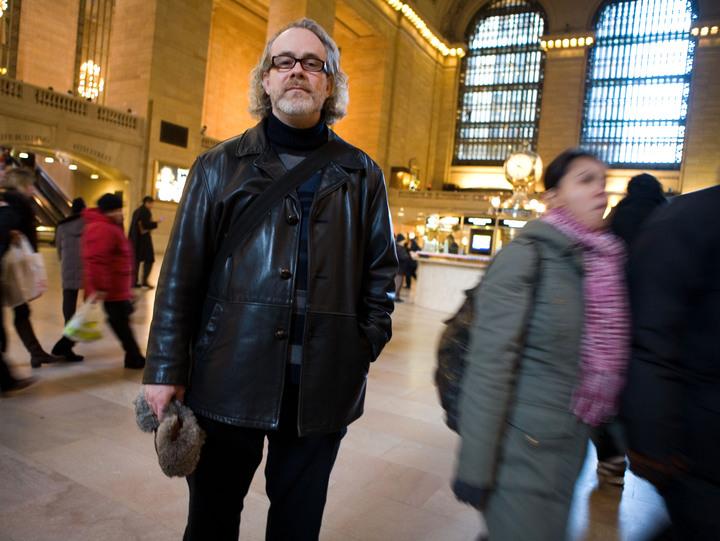 William Shunn at Grand Central Station