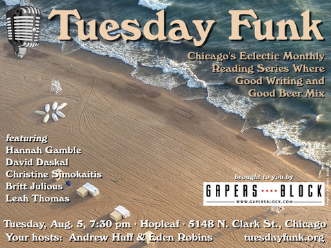 Tuesday Funk for August 5, 2014