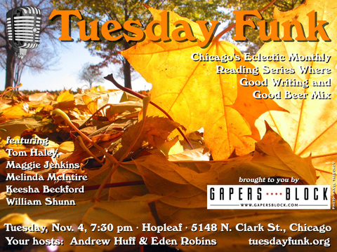 Tuesday Funk Nov. 4, 2014