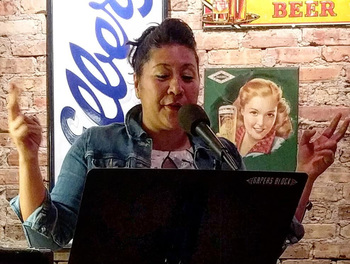 Elizabeth Gomez at Tuesday Funk on June 5, 2018 - click to view - mousewheel to zoom