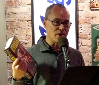 Alec Nevala-Lee reads at Tuesday Funk Nov. 6, 2018. - click to view - mousewheel to zoom
