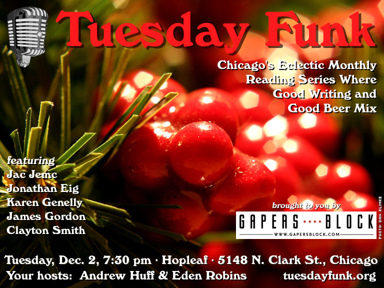 Tuesday Funk for Dec. 2, 2014