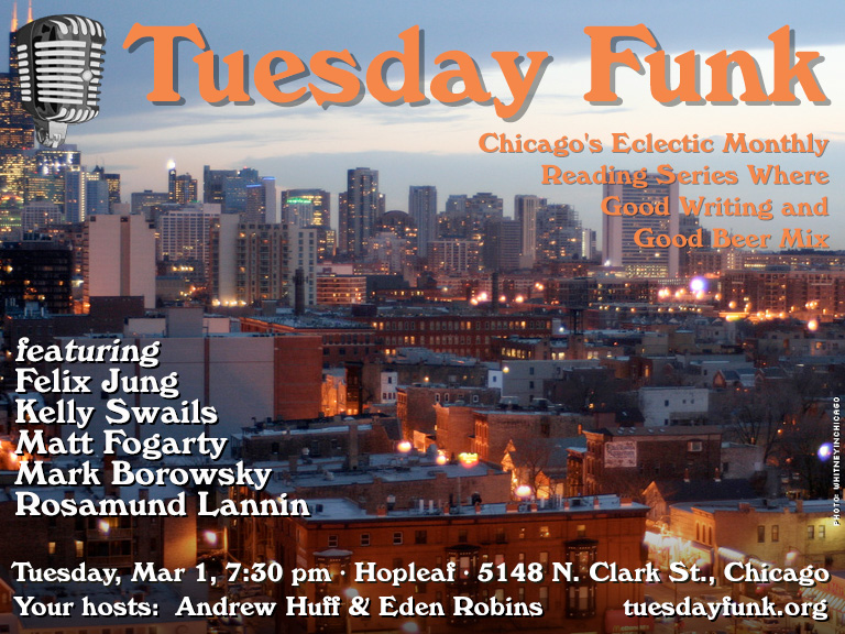 Tuesday Funk for March 1, 2016
